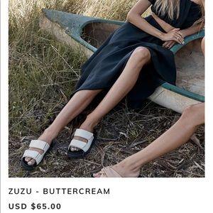 Billini Zuzu slides. Brand new. Size 9